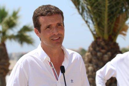 Casado participará el miércoles 29 de agosto en un acto político en La Rioja