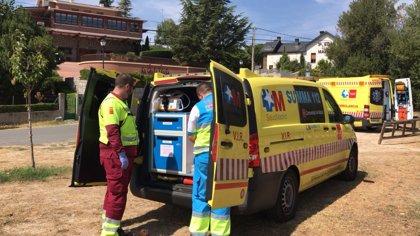 Herido muy grave un hombre de 29 años en el segundo 'boloencierro' de Mataelpino