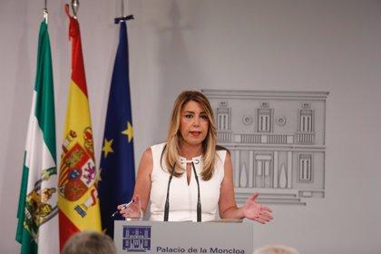 """Susana Díaz condena """"rotundamente"""" la agresión a una mujer por quitar lazos amarillos en Barcelona"""
