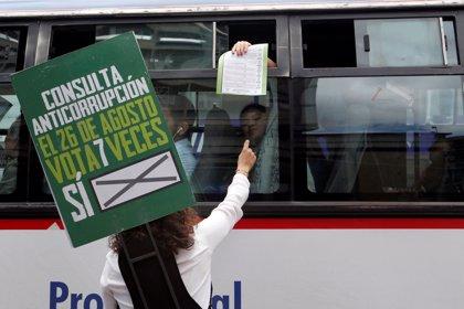 Arranca en Colombia la consulta popular sobre un paquete anticorrupción