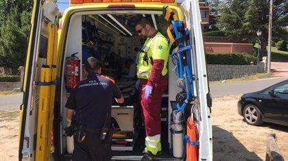 El alcalde de Mataelpino asegura que revisaron la seguridad en el 'boloencierro' y que el herido paró en zona de riesgo
