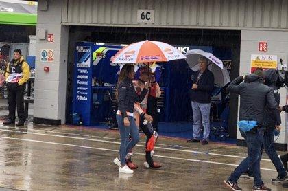 Las carreras en Silverstone, canceladas a causa del chaparrón