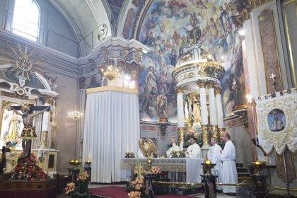 La parroquia de San Pedro Apóstol de Paterna acoge una misa jubilar en honor a San Vicente Ferrer