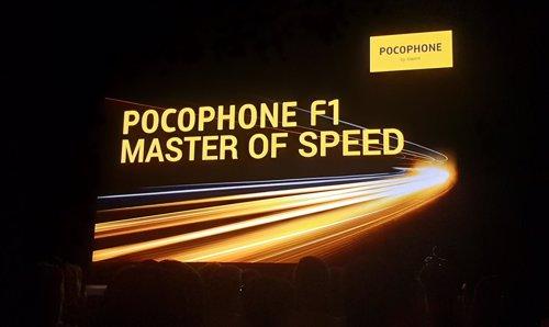 Presentación de PocoPhone F1 en París