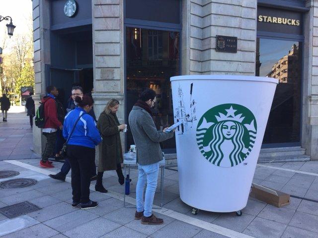 Apertura del primer Starbucks en Oviedo