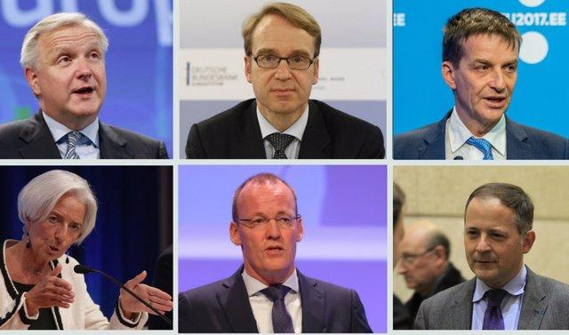 Posibles candidatos a presidir el BCE