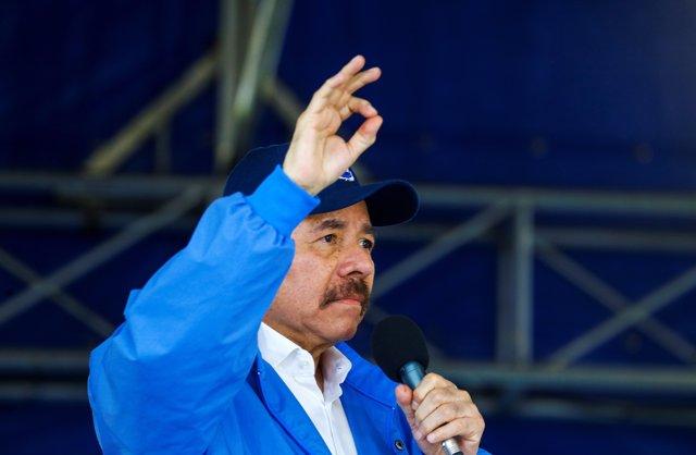 Daniel Ortega habla tras los 100 días de revueltas en Nicaragua