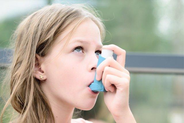 Asma infantil y contaminación están muy relacionados.