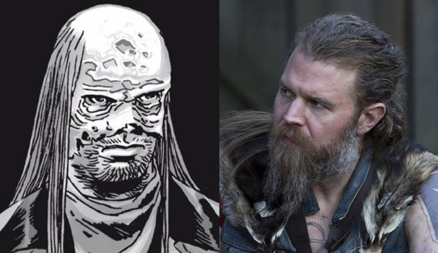 Cómic de The Walking Dead y Ryan Hurst