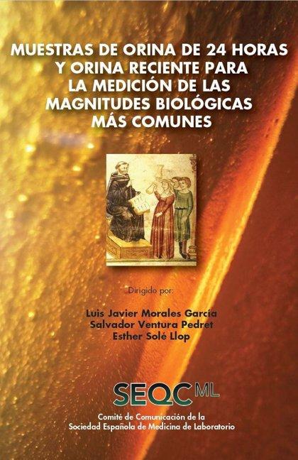 SEQCML edita una monografía sobre la medición de las magnitudes biológicas en orina dirigida a especialistas