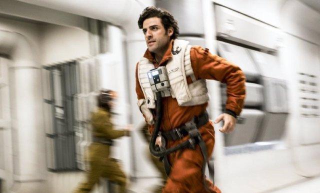 Oscar Isaac en Los últimos Jedi