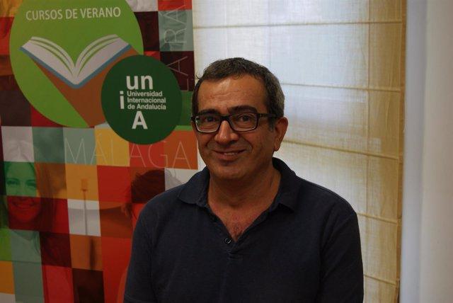 El psicólogo Miguel Ángel López Bermúdez en los Cursos de Verano 2018 de la UNIA