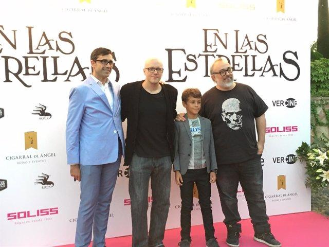 Presentación 'En las estrellas' en Toledo con Alex de la Iglesia