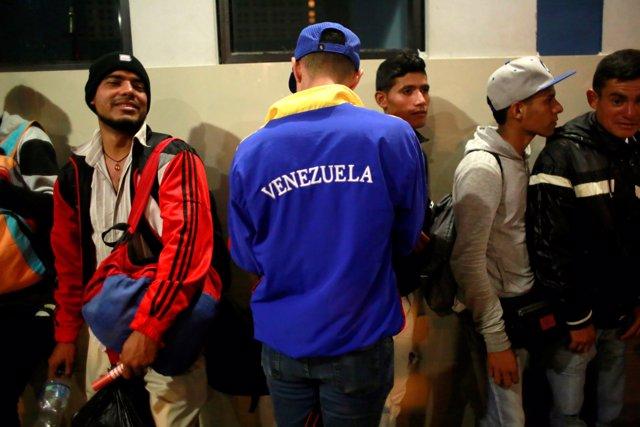Migrantes venezolanos en Tumbes, Perú