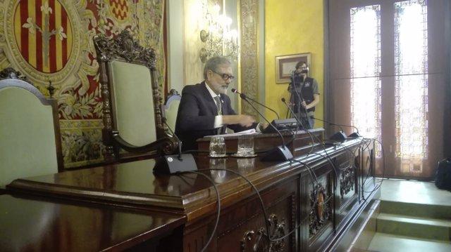 Fèlix Larrosa, nuevo alcalde de Lleida