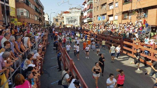 Encierro en San Sebastián de los Reyes