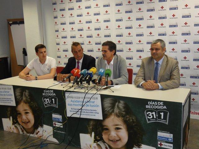 Miras y Herrero presentan la X Campaña 'Vuelta al Cole Solidaria'
