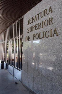 Jefatura Superior de la Policía Nacional en Sevilla.
