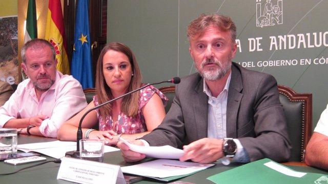 José Fiscal con representantes de la Junta en Córdoba