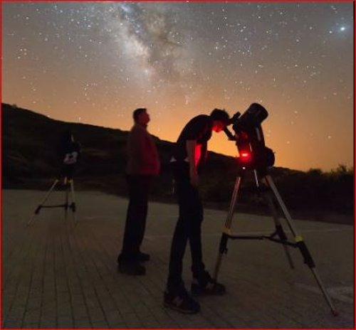 Experiencias en astroturismo