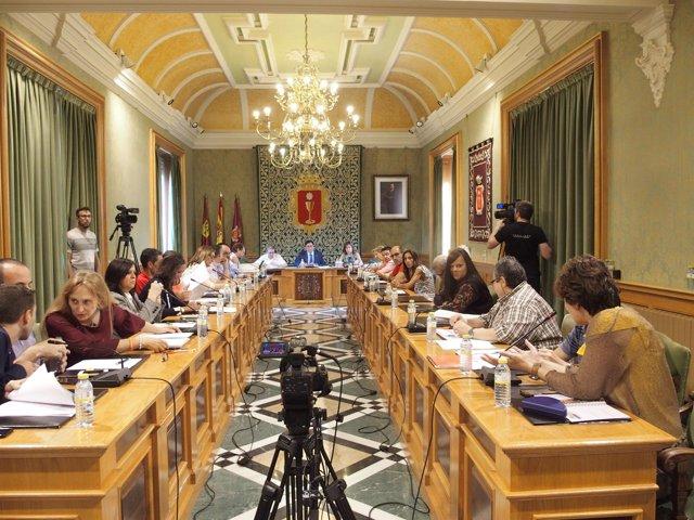 Pleno del Ayuntamiento de Cuenca