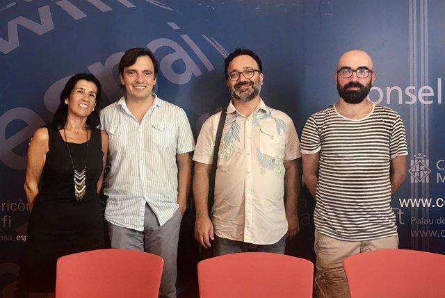 Presentación 'Tres danzas mallorquinas' en el Consell de Mallorca