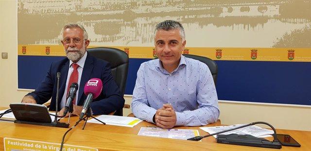 Ramos y Muelas en rueda de prensa