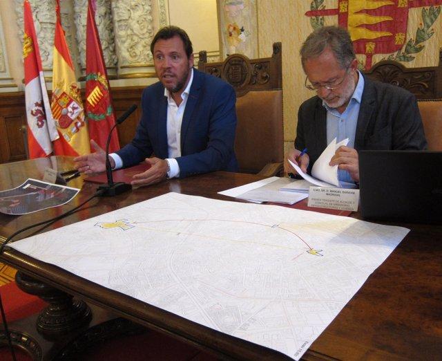 Óscar Puente Y Manuel Saravia Presentan La Operación De El Salvador. 29-8