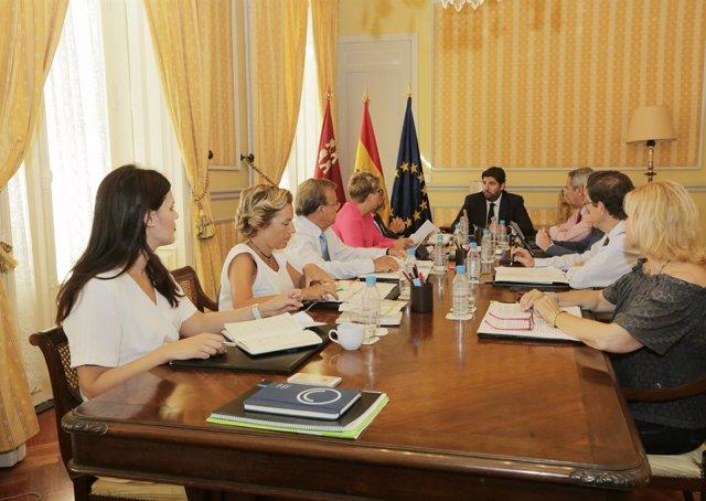 Consejo de Gobierno en Cartagena con López Miras a la cabeza