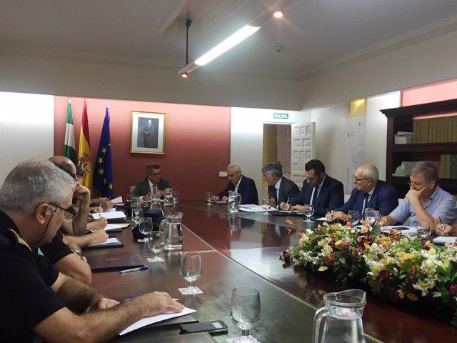 Reunión de seguridad convocada con motivo del primer derbi sevillano