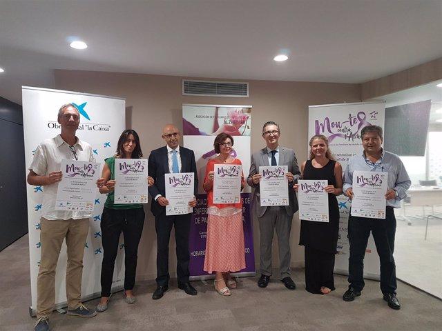 Persentación Marcha Solidaria Alzheimer en Palma