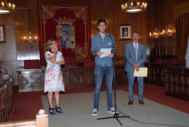 Mayte Martín, Franco Feo y José Luis Bermúdez.