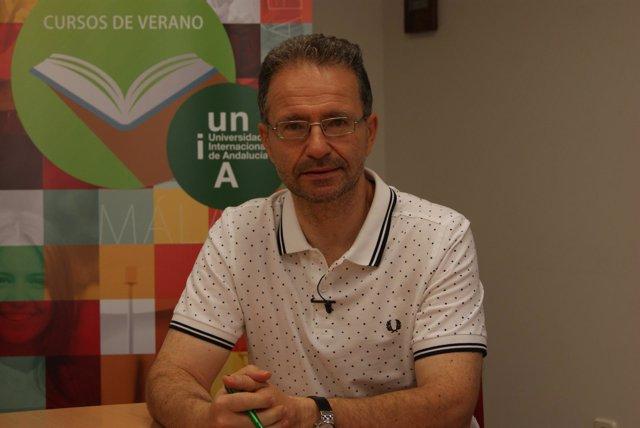 Cristóbal Molina en los Cursos de Verano 2018 de la UNIA en Baeza.