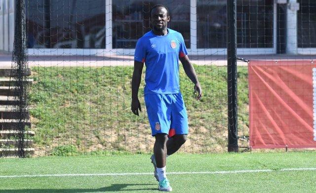 El jugador del Girona FC Seydou Doumbia