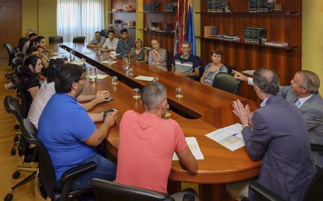 Reunión del secretario general de Presidencia con residentes en el extranjero