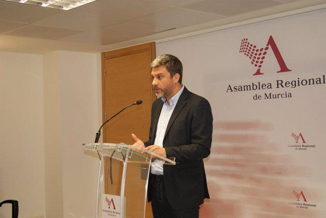 El portavoz del Grupo Parlamentario Socialista Joaquín López