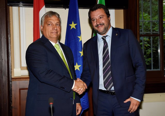IViktor Orban y Matteo Salvini