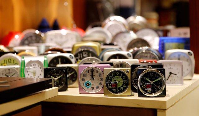 Tienda de relojes en Viena