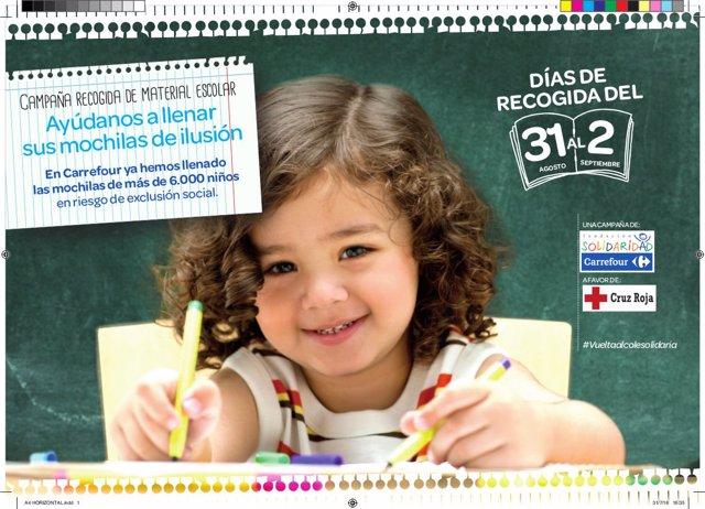 Campaña Carrefour y Cruz Roja