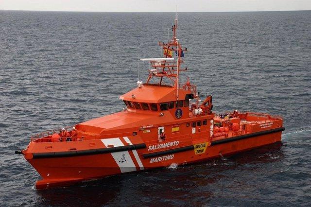 Embarcación Guardamar Polimnia de Salvamento Marítimo