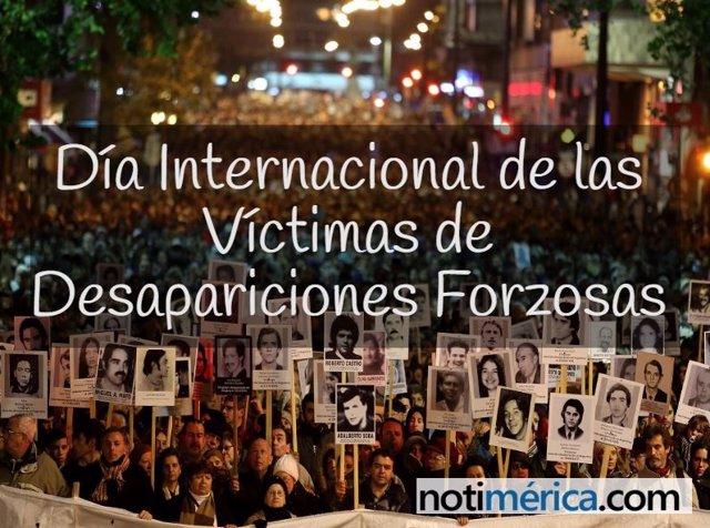 Día de víctimas de desapariciones forzadas