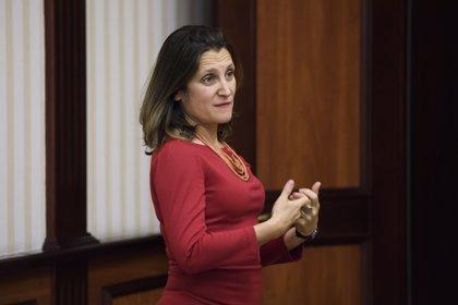 """La ministra de Exteriores de Canadá tilda de """"muy intensas"""" las conversaciones con EEUU sobre el TLCAN"""