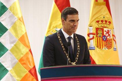 Pedro Sánchez ofrece España como sede de las conversaciones entre Colombia con la guerrilla del ELN