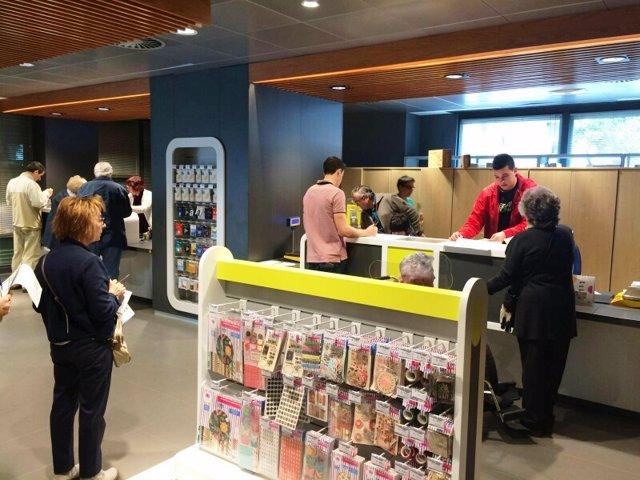 Correos transforma 31 oficinas de arag n a su nuevo modelo for Oficinas de correos zaragoza