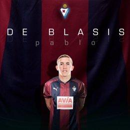Pablo de Blasis, nuevo jugador de la SD Eibar