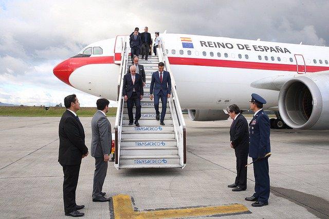 Viaje oficial de Pedro Sánchez a Colombia