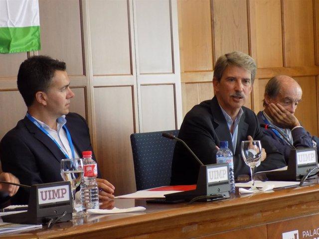 Gómez Hernández, Salafranca y Maura en la UIMP