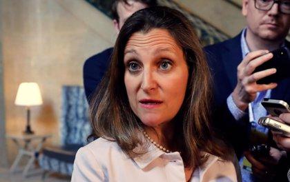 Freeland anuncia que las conversaciones con EEUU sobre el TLCAN se reanudarán este viernes