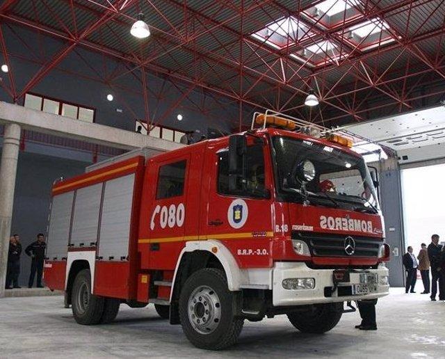 Vehículo de Bomberos de Málaga