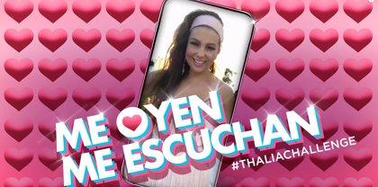'Me oyen, me escuchan', el nuevo hit de Thalía que nació de un challenge